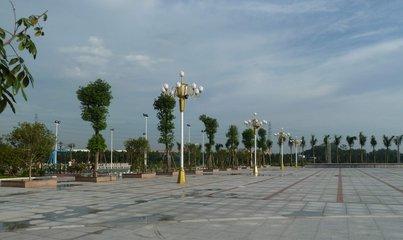 礼泉迎恩门广场已完工90% 预计12月完工