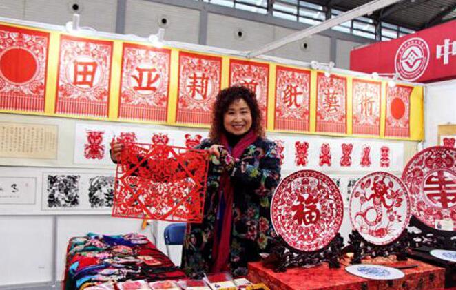 宜君两项非遗项目亮相陕西传统手工技艺大展