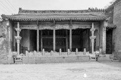 渭南灵泉村,石雕、木雕、民居精美