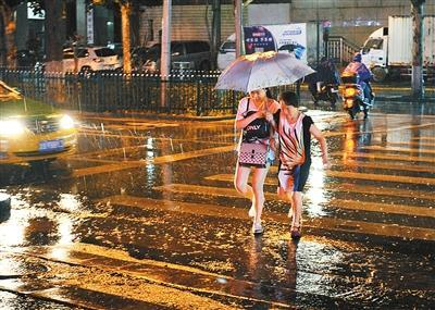 陕西今日起有明显降水过程 陕南部分地