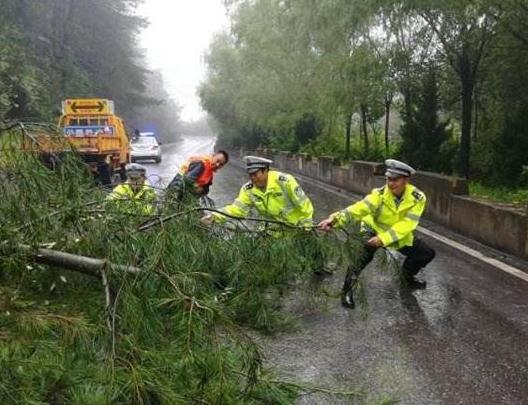 强降雨致宝鸡4.7万余人受灾 多处道路