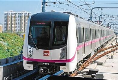 西安地铁三线齐发 轨道